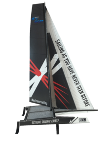 Maquette GC32 Extreme Sailing Series