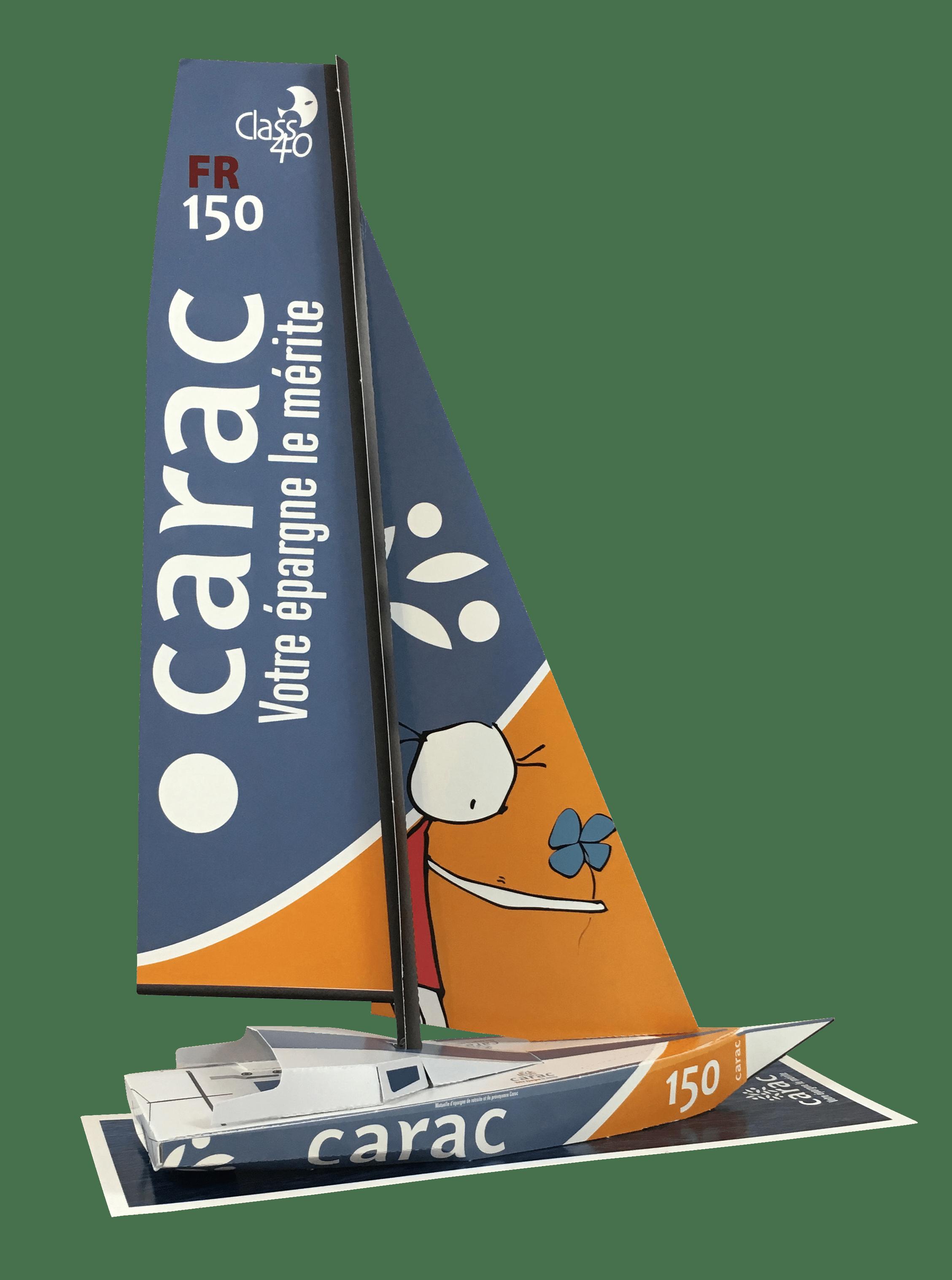 IMG_4487.png - Maquette en papier du Class40 Carac