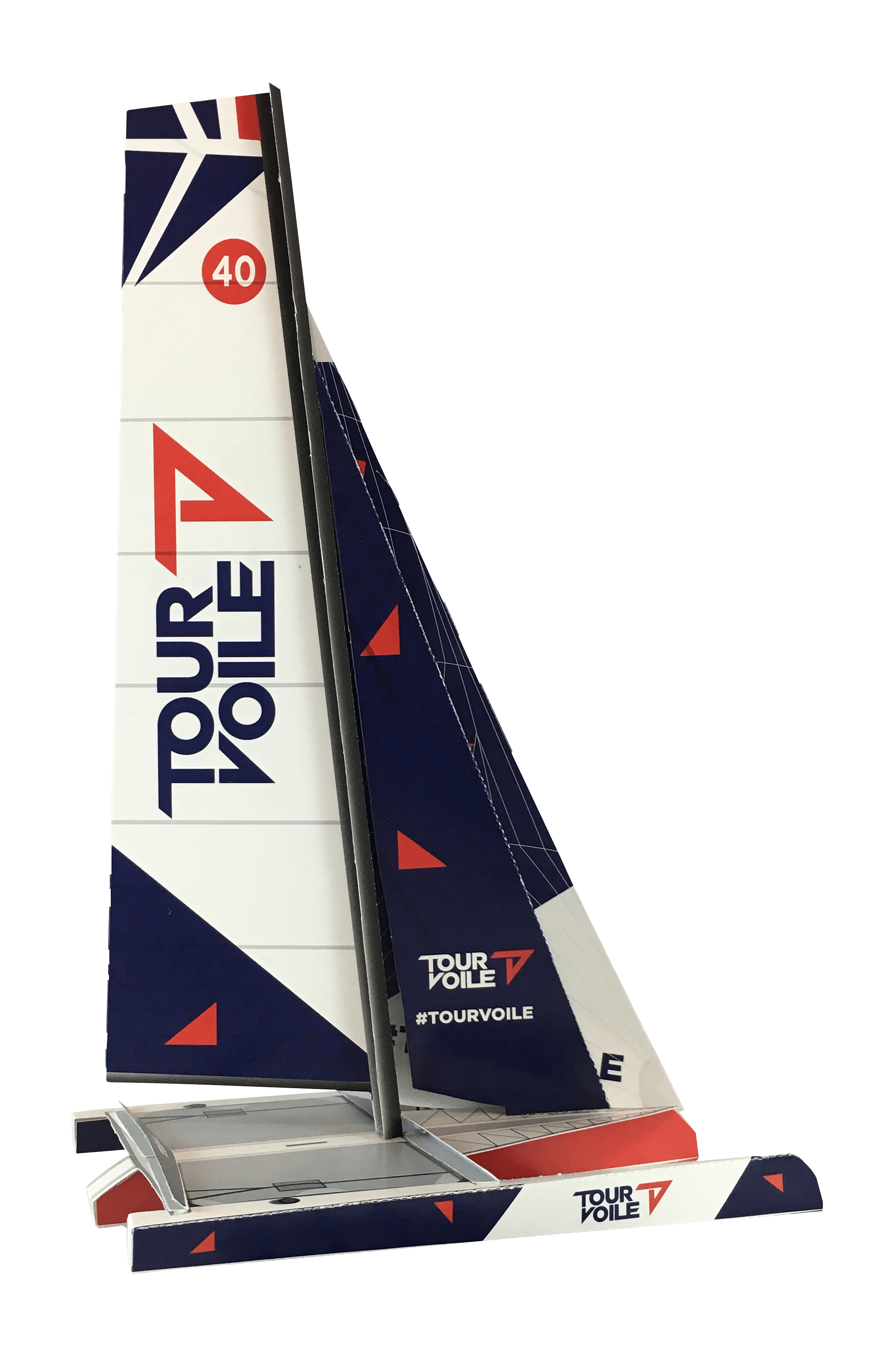 IMG_4560.png - Maquette en papier du Diam24 Tour de France à la Voile 2018